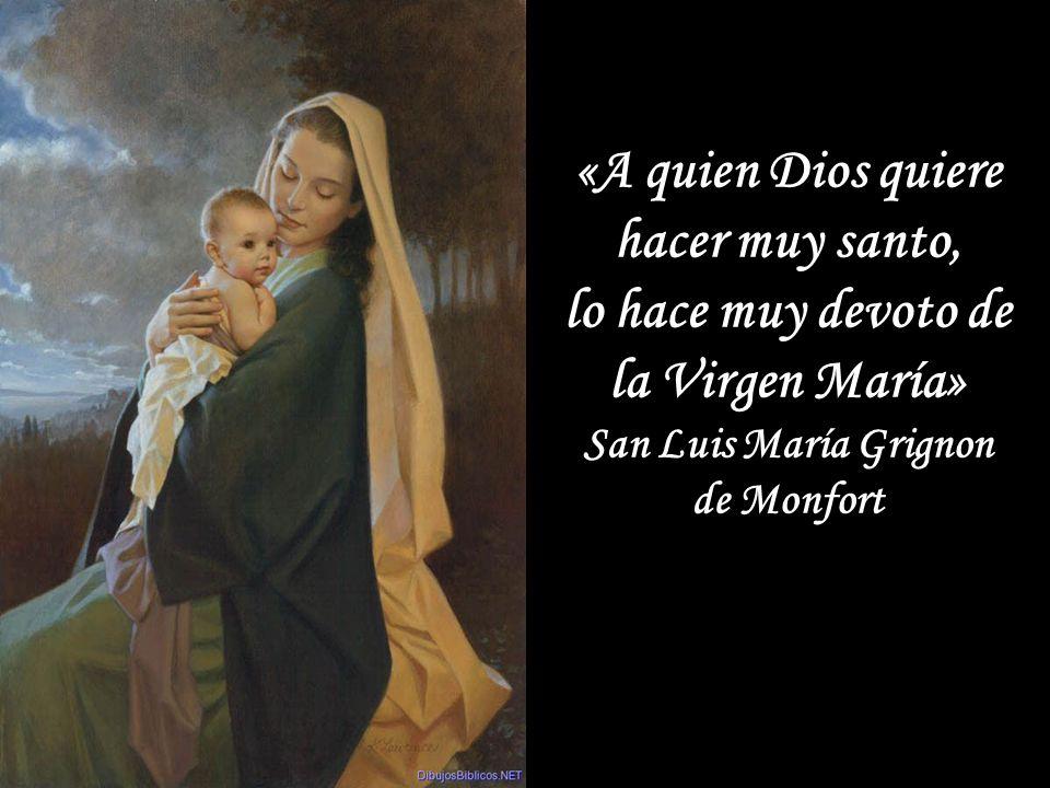 «A quien Dios quiere hacer muy santo,