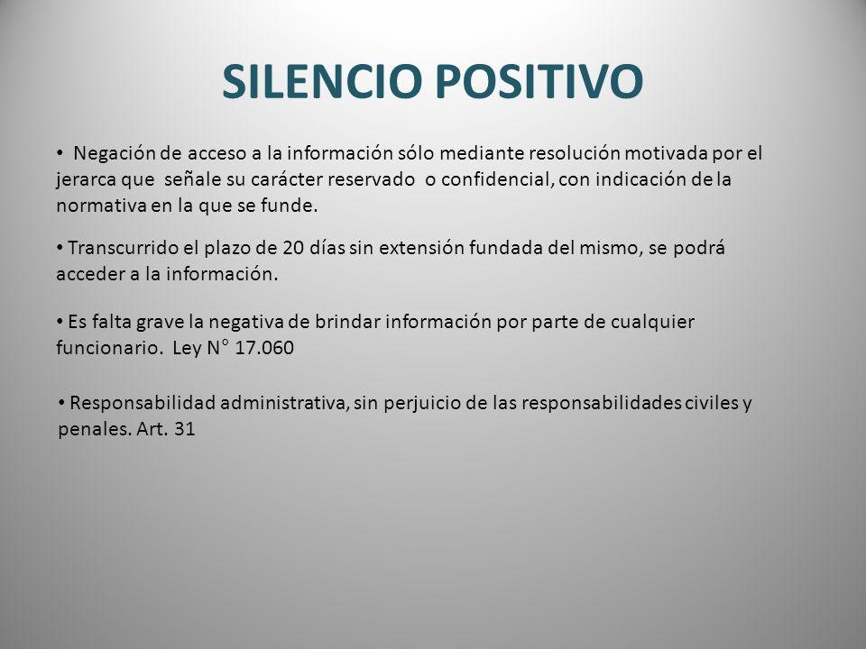 SILENCIO POSITIVO