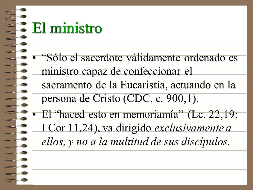 El ministro