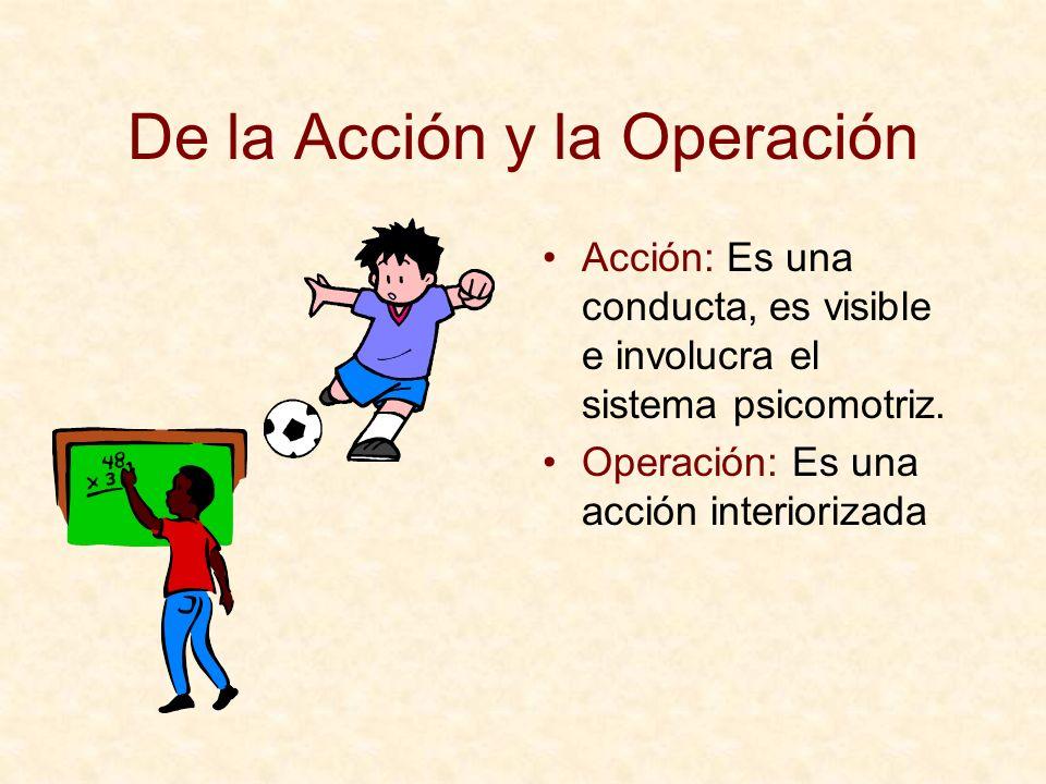 De la Acción y la Operación