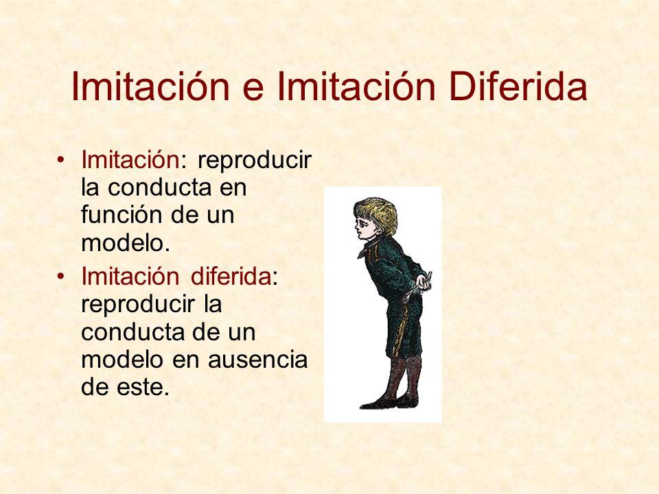 Imitación e Imitación Diferida