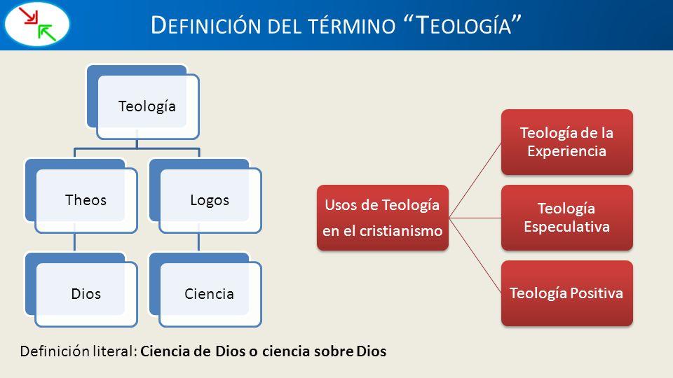 Definición del término Teología