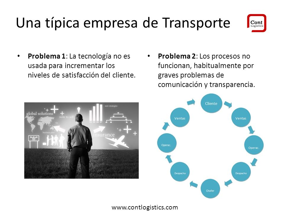 Una típica empresa de Transporte