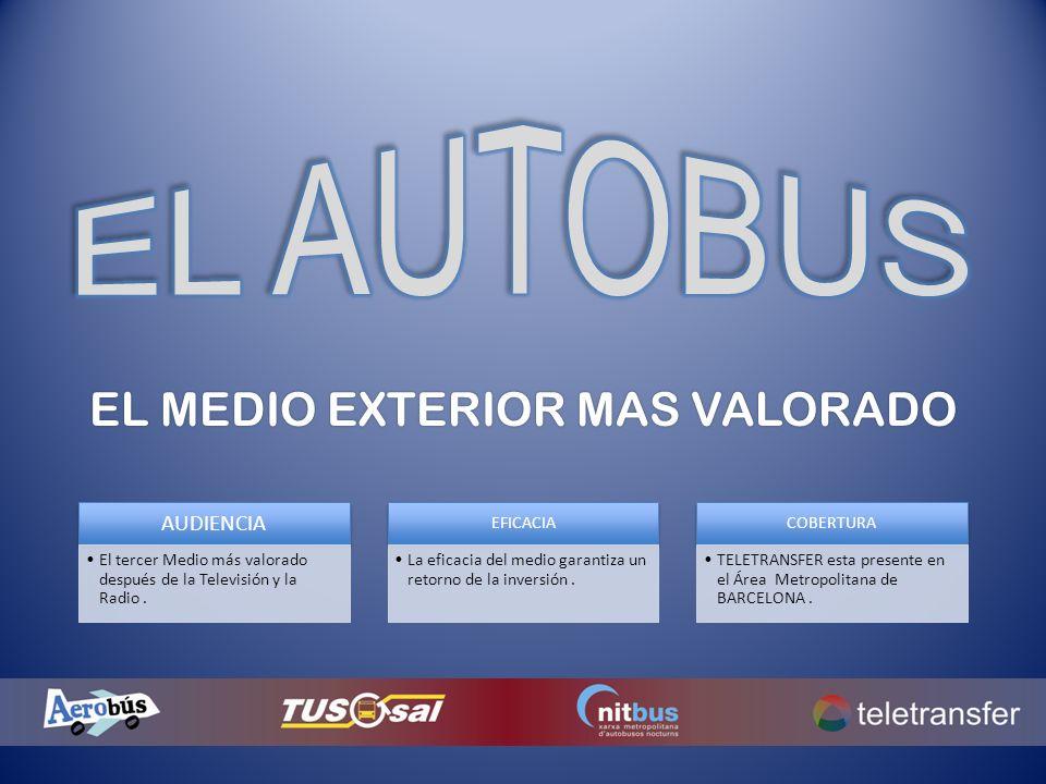 EL MEDIO EXTERIOR MAS VALORADO