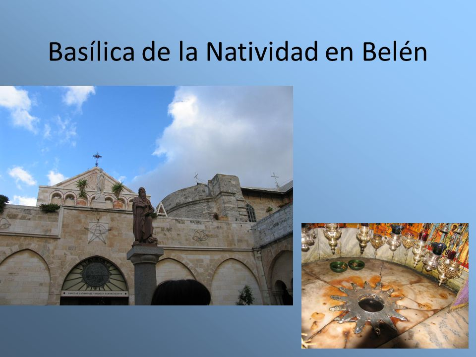 Basílica de la Natividad en Belén