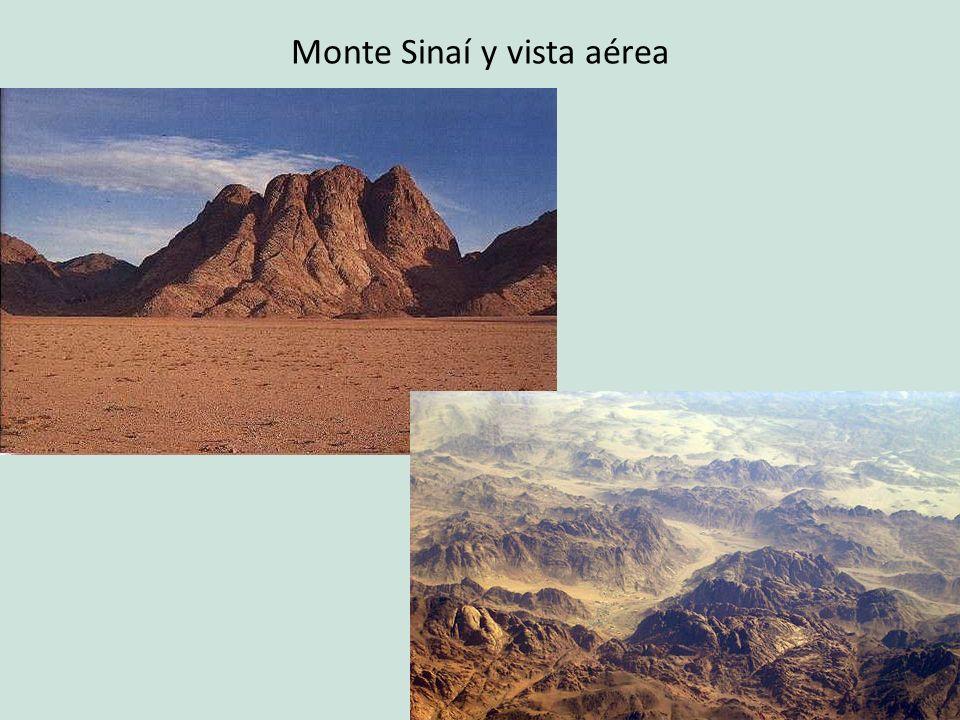 Monte Sinaí y vista aérea