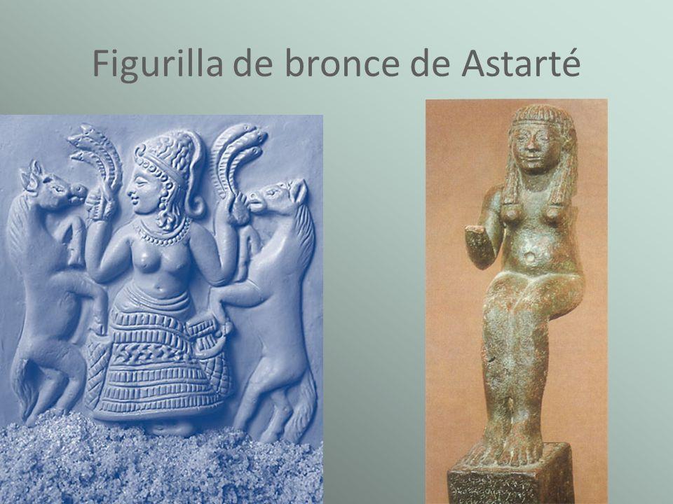 Figurilla de bronce de Astarté