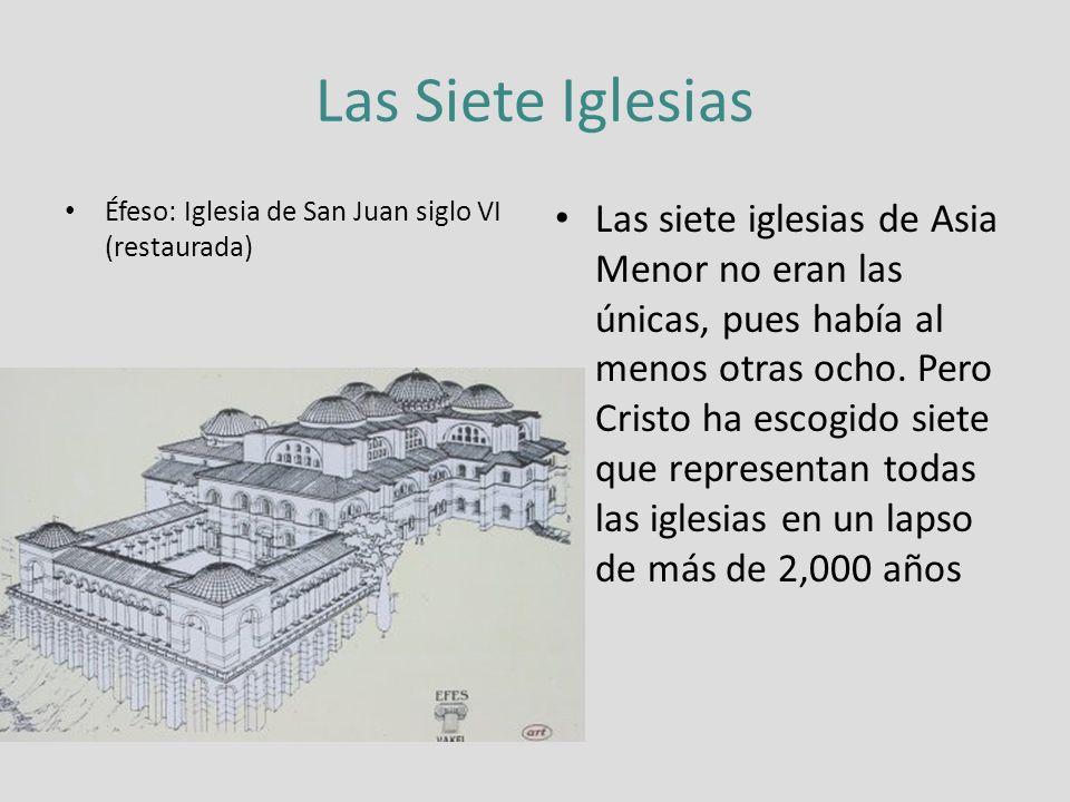 Las Siete Iglesias Éfeso: Iglesia de San Juan siglo VI (restaurada)