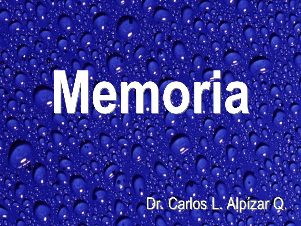 Memoria Dr. Carlos L. Alpízar Q.
