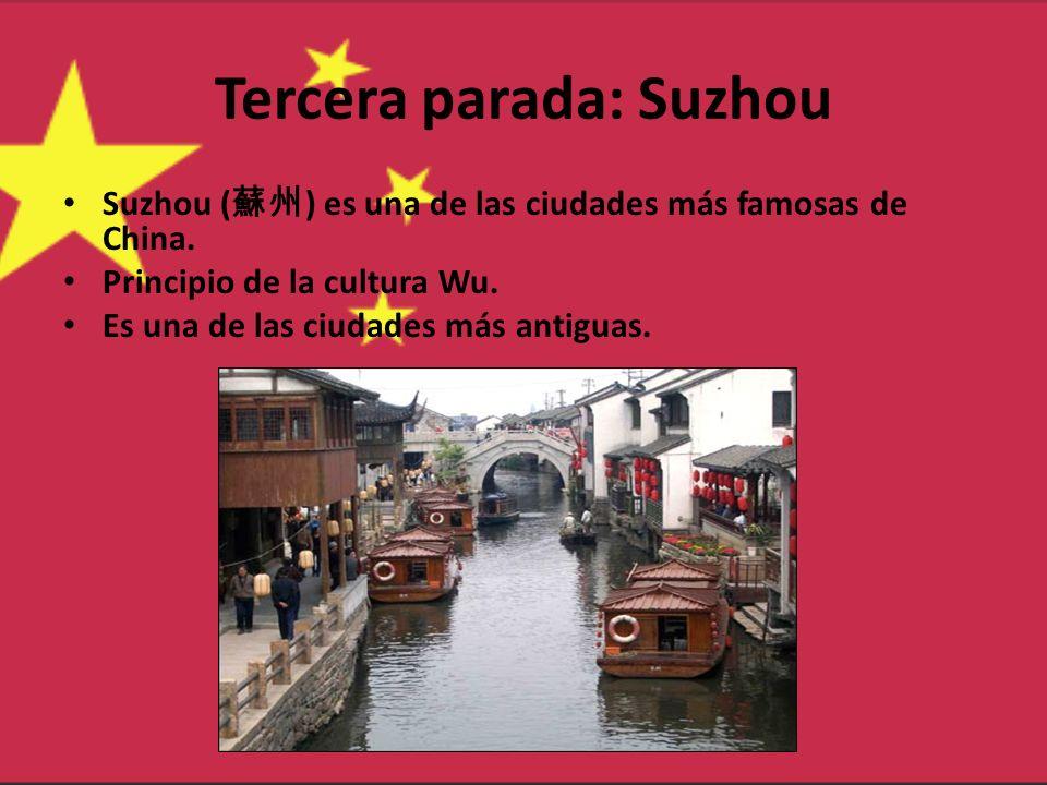 Tercera parada: Suzhou