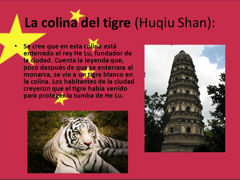 La colina del tigre (Huqiu Shan):