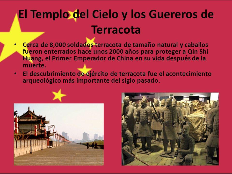 El Templo del Cielo y los Guereros de Terracota