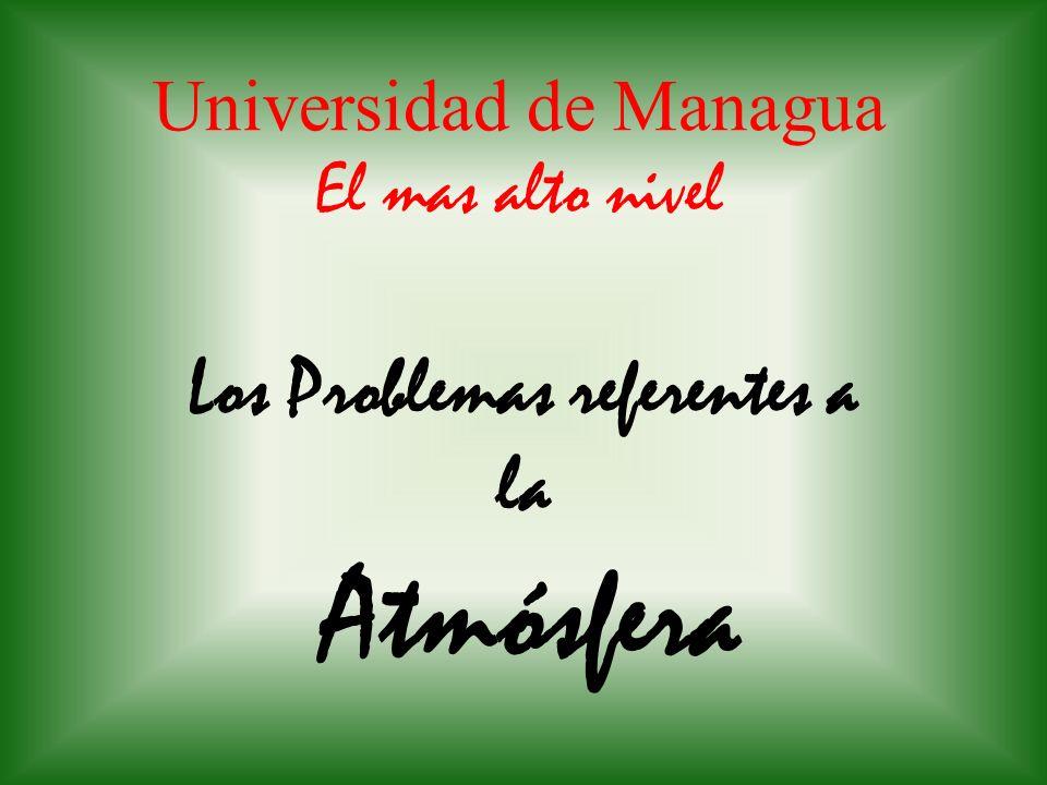 Universidad de Managua El mas alto nivel
