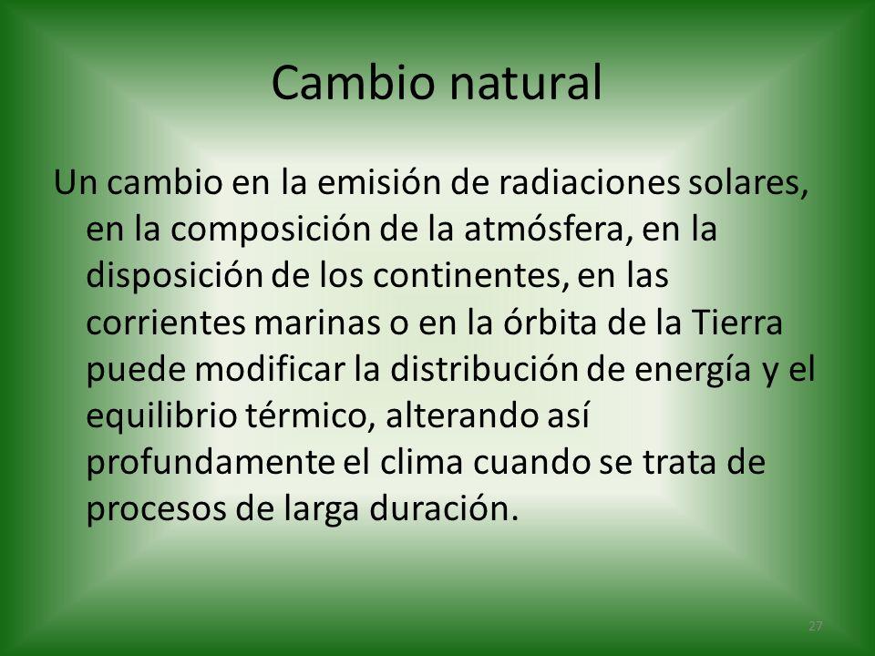 Cambio natural