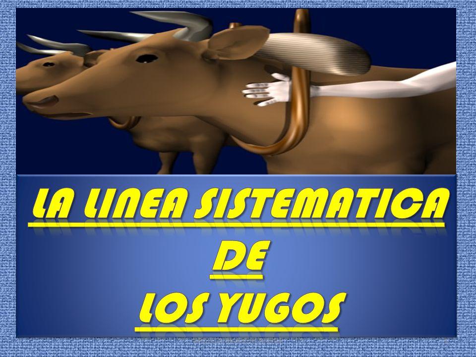 LA LINEA SISTEMATICA DE LOS YUGOS