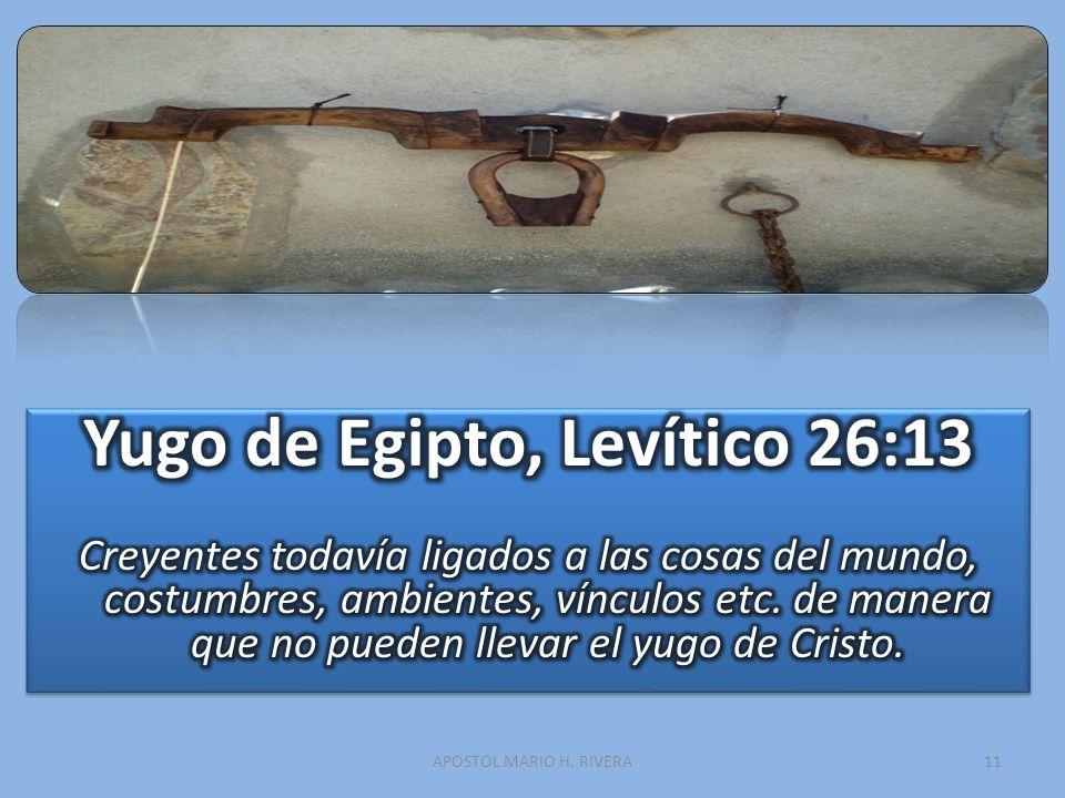 Yugo de Egipto, Levítico 26:13