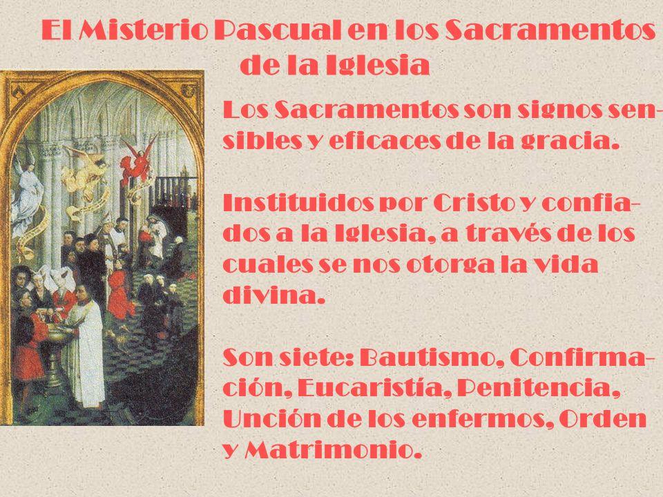 El Misterio Pascual en los Sacramentos de la Iglesia