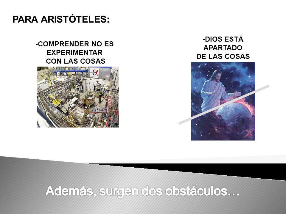 Además, surgen dos obstáculos…