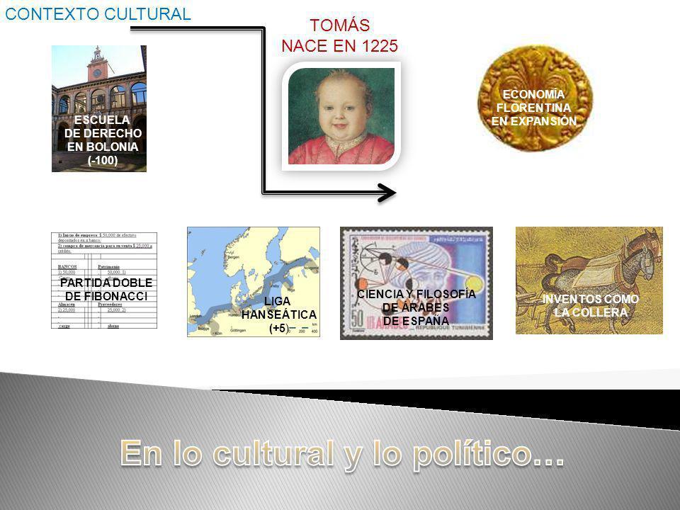 En lo cultural y lo político…