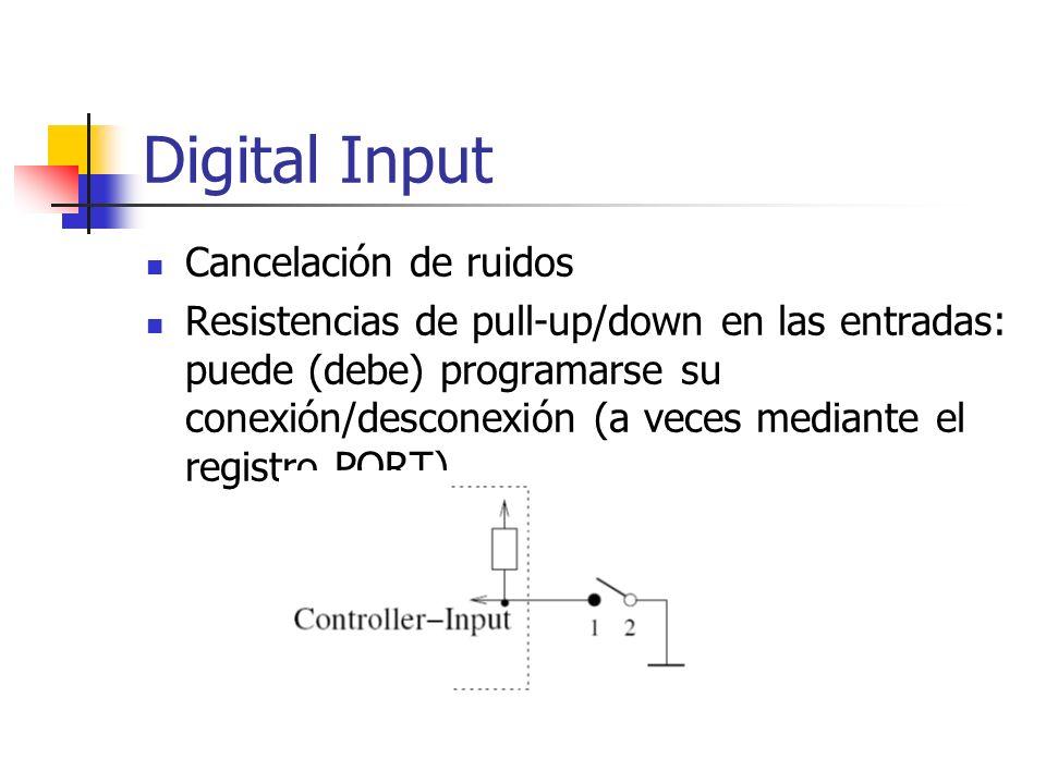 Digital Input Cancelación de ruidos