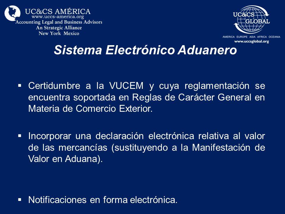 Sistema Electrónico Aduanero