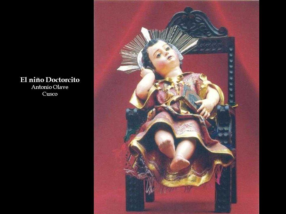 El niño Doctorcito Antonio Olave Cusco