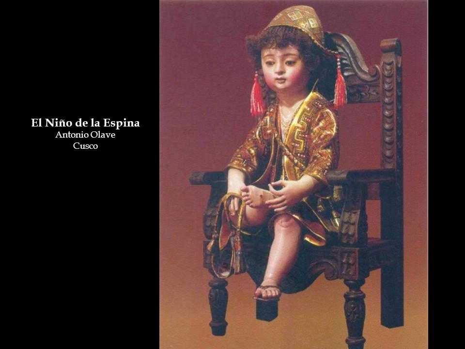 El Niño de la Espina Antonio Olave Cusco
