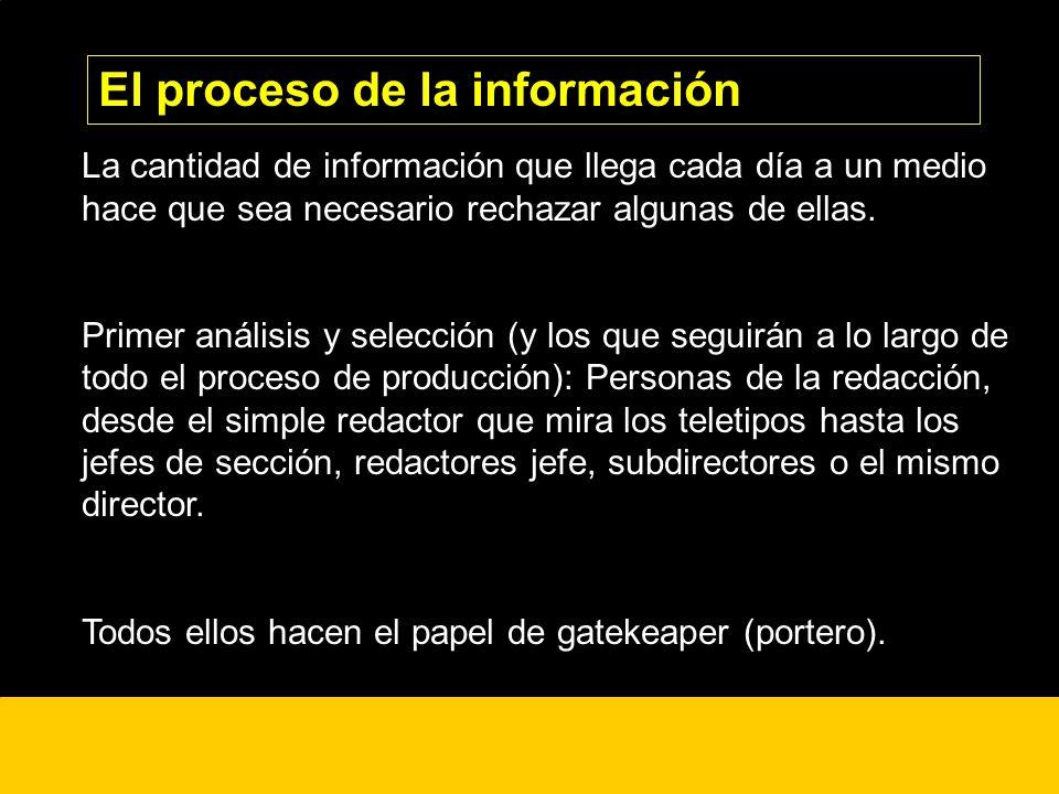 El proceso de la información