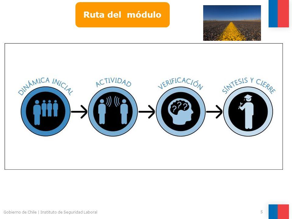 Ruta del módulo Gobierno de Chile | Instituto de Seguridad Laboral