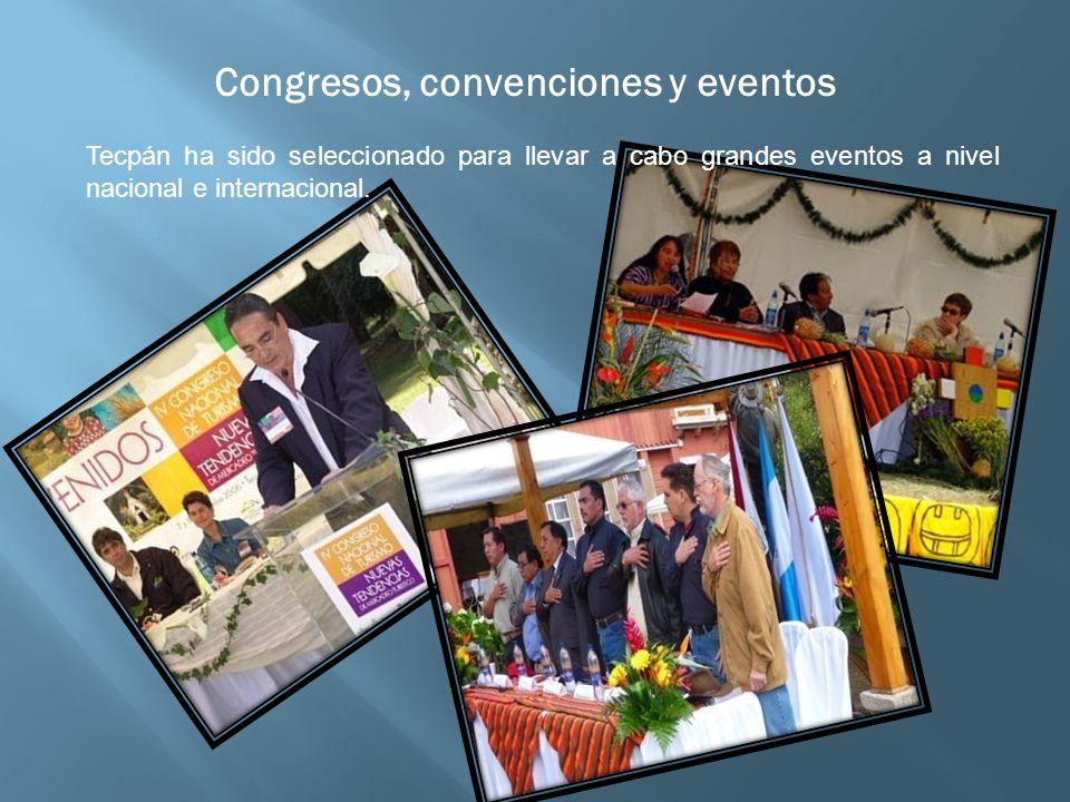 Congresos, convenciones y eventos