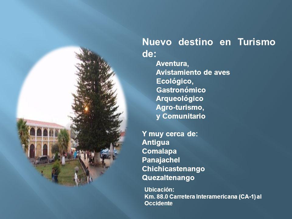 Nuevo destino en Turismo de: