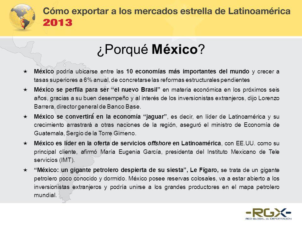 ¿Porqué México