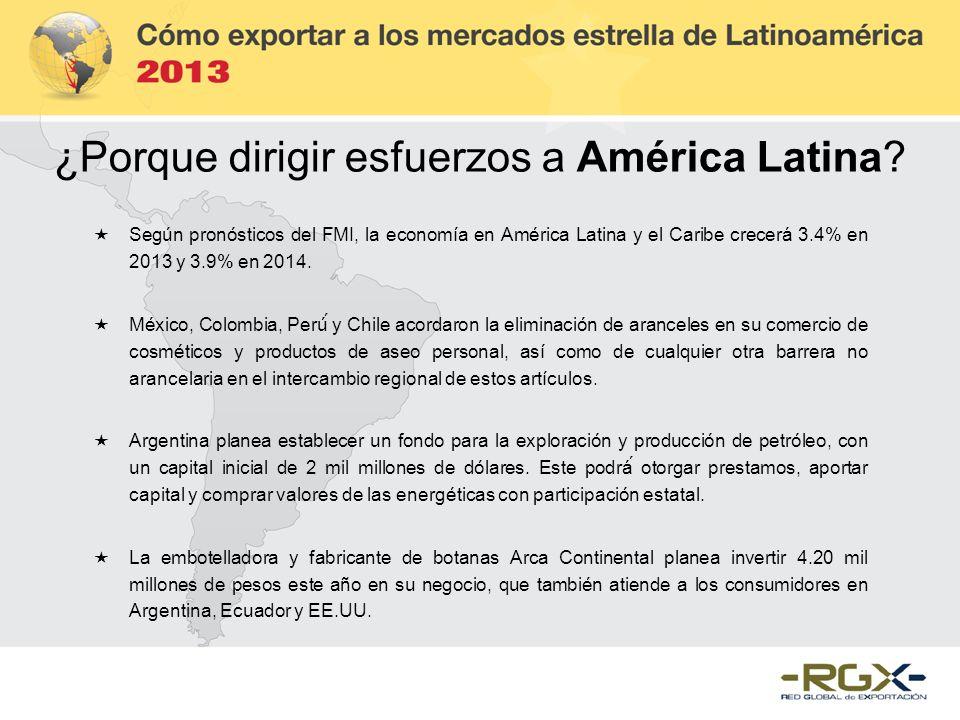 ¿Porque dirigir esfuerzos a América Latina