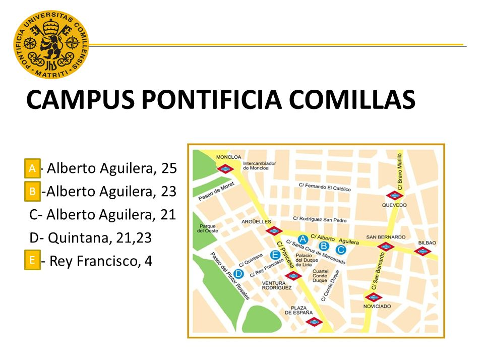 CAMPUS PONTIFICIA COMILLAS