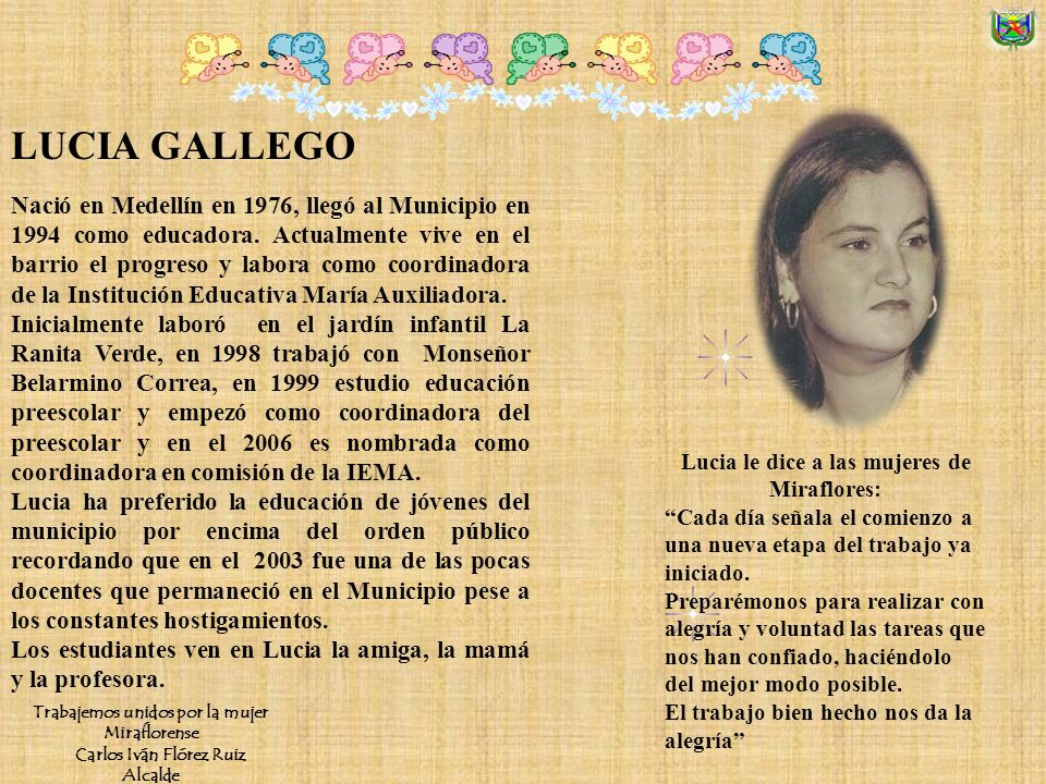 LUCIA GALLEGO