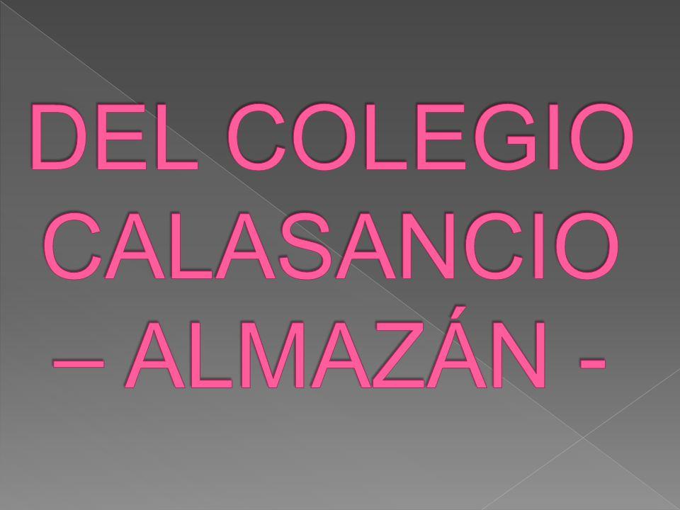 DEL COLEGIO CALASANCIO