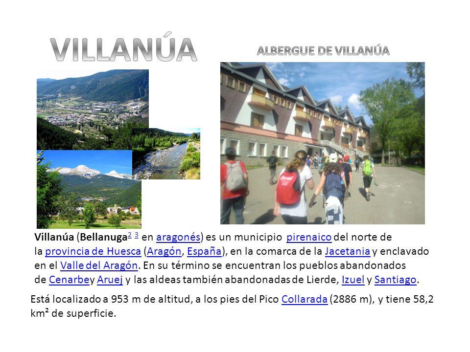 VILLANÚA ALBERGUE DE VILLANÚA