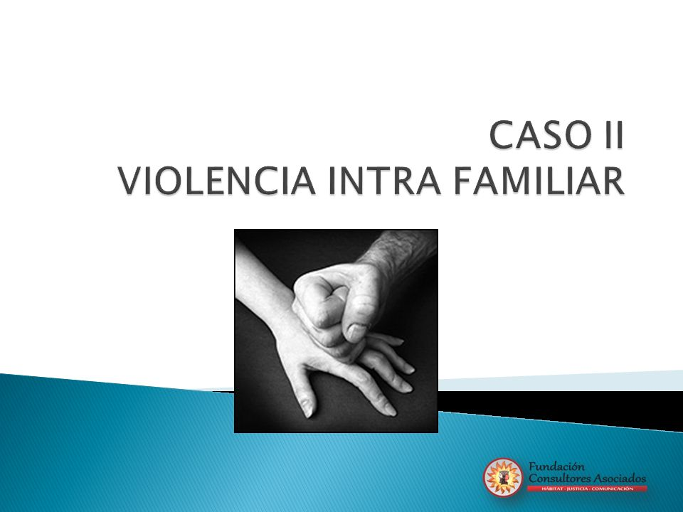 CASO II VIOLENCIA INTRA FAMILIAR