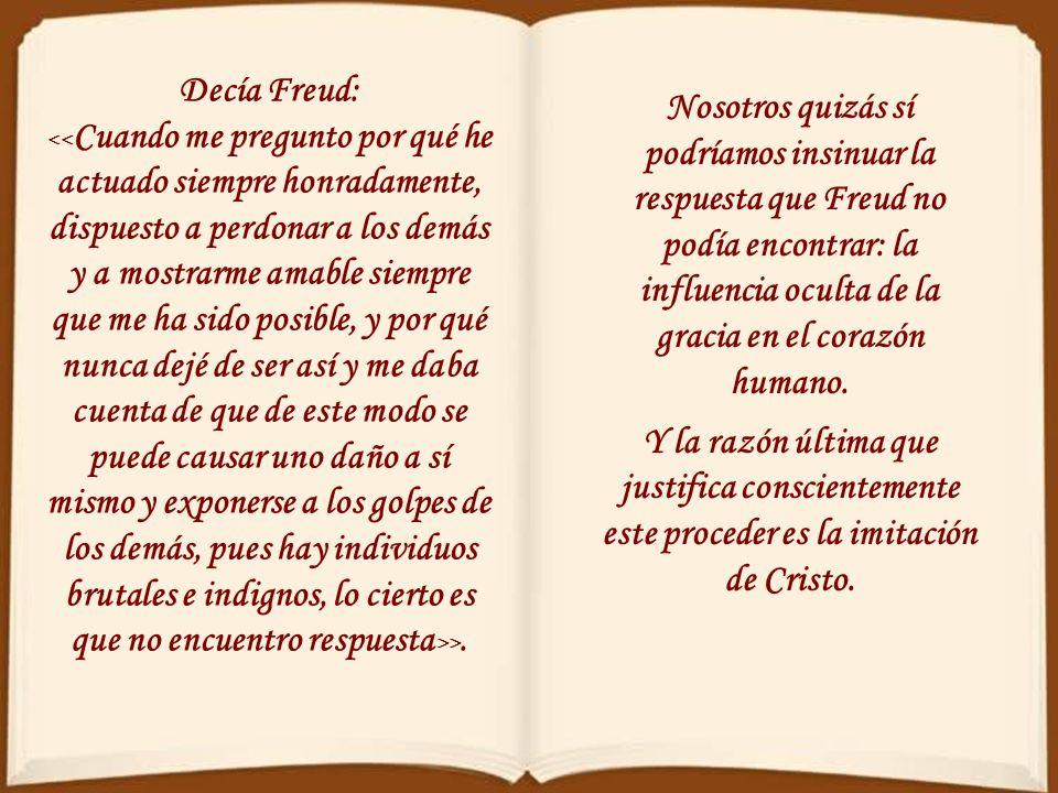 Decía Freud: