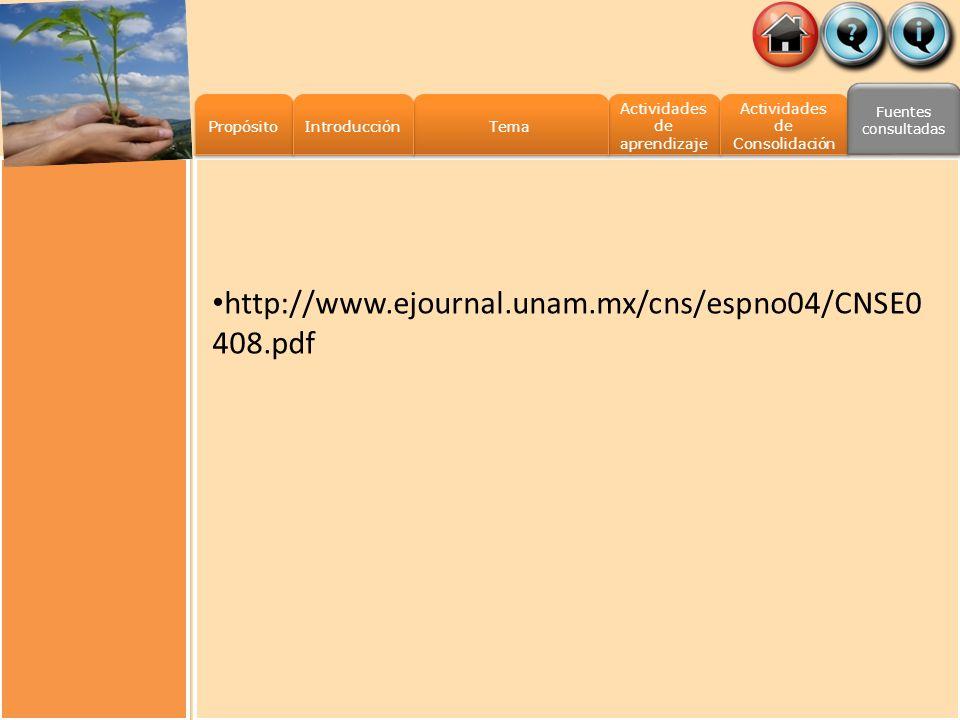 http://www.ejournal.unam.mx/cns/espno04/CNSE0408.pdf Propósito