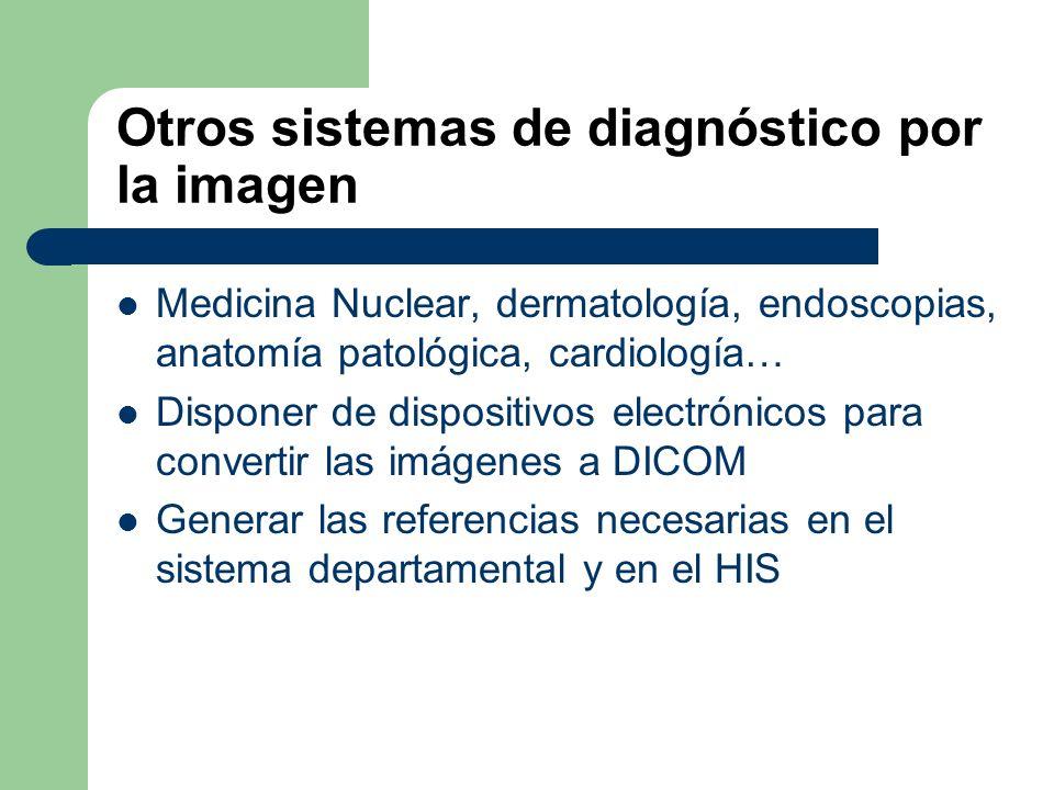 Otros sistemas de diagnóstico por la imagen