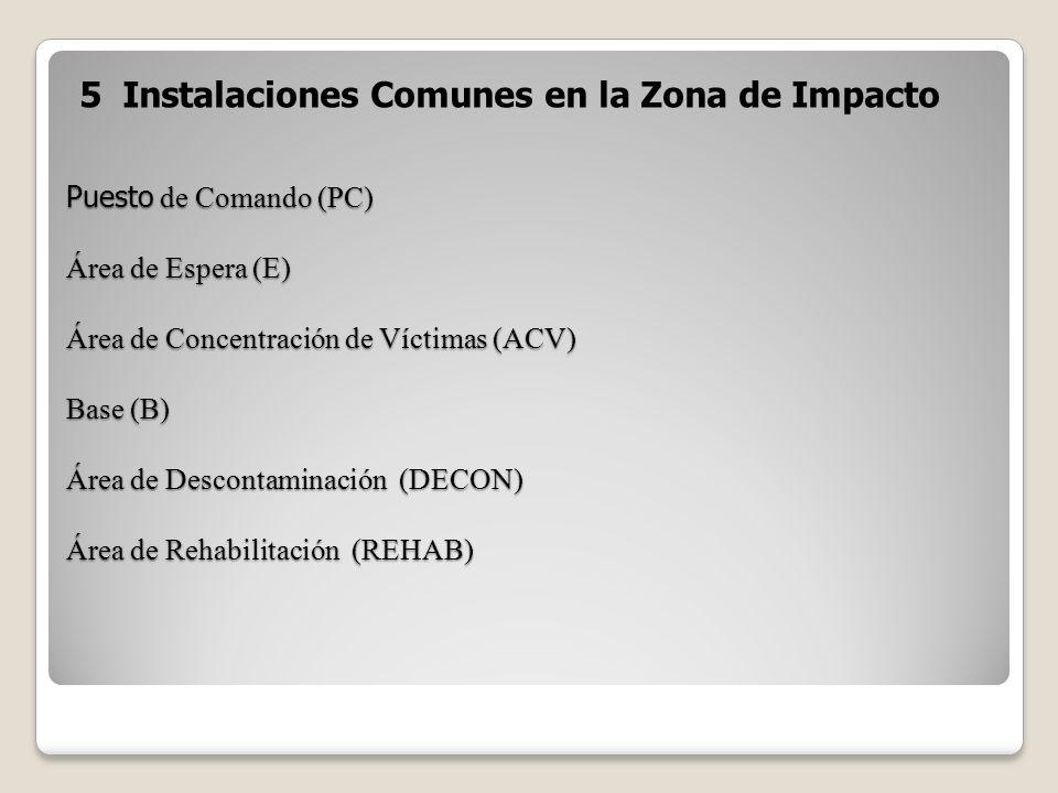 5 Instalaciones Comunes en la Zona de Impacto
