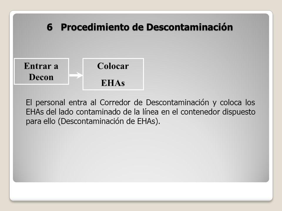 6 Procedimiento de Descontaminación