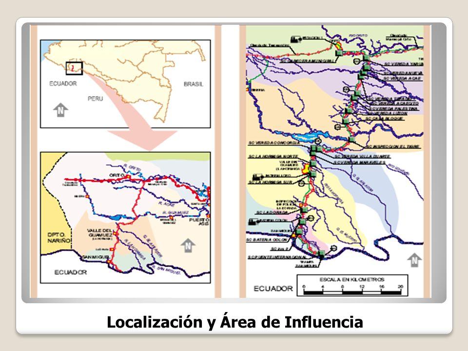 Localización y Área de Influencia