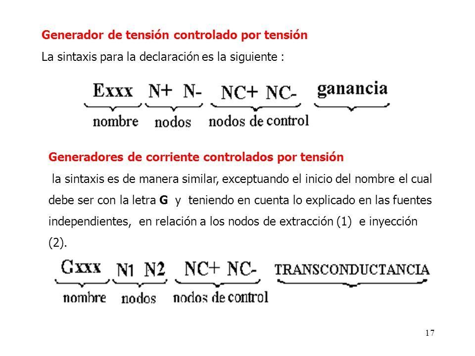 Generador de tensión controlado por tensión