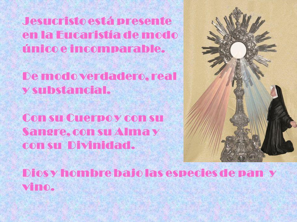 Jesucristo está presente