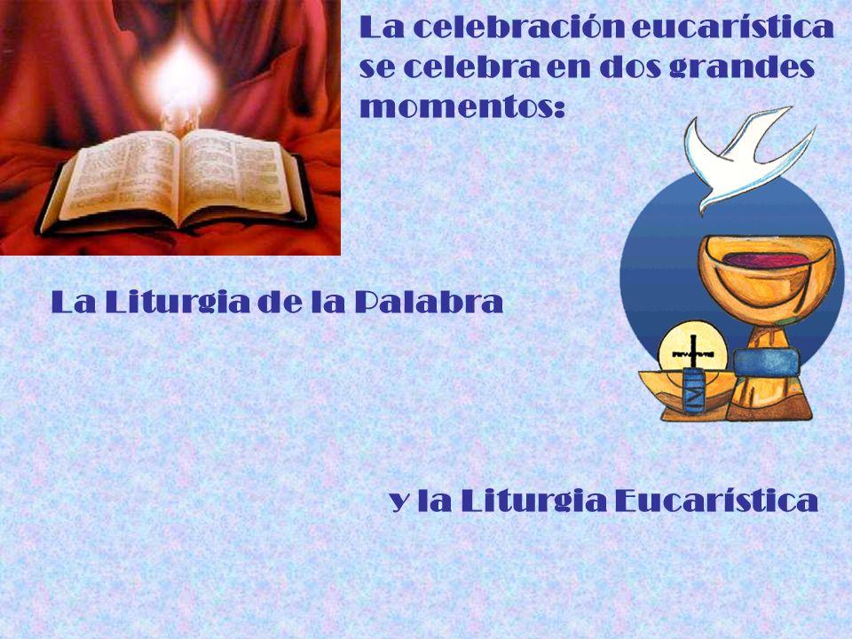 La celebración eucarística