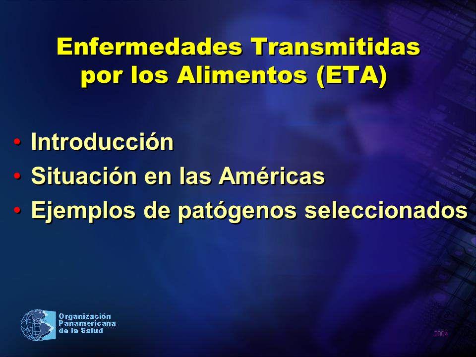 Enfermedades Transmitidas por los Alimentos (ETA)