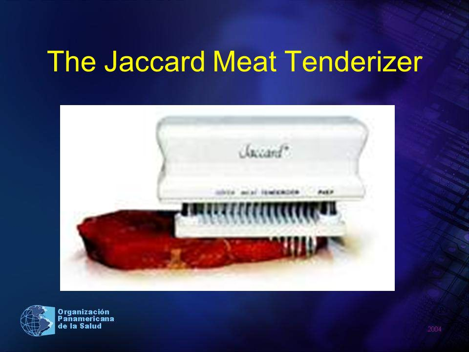 The Jaccard Meat Tenderizer