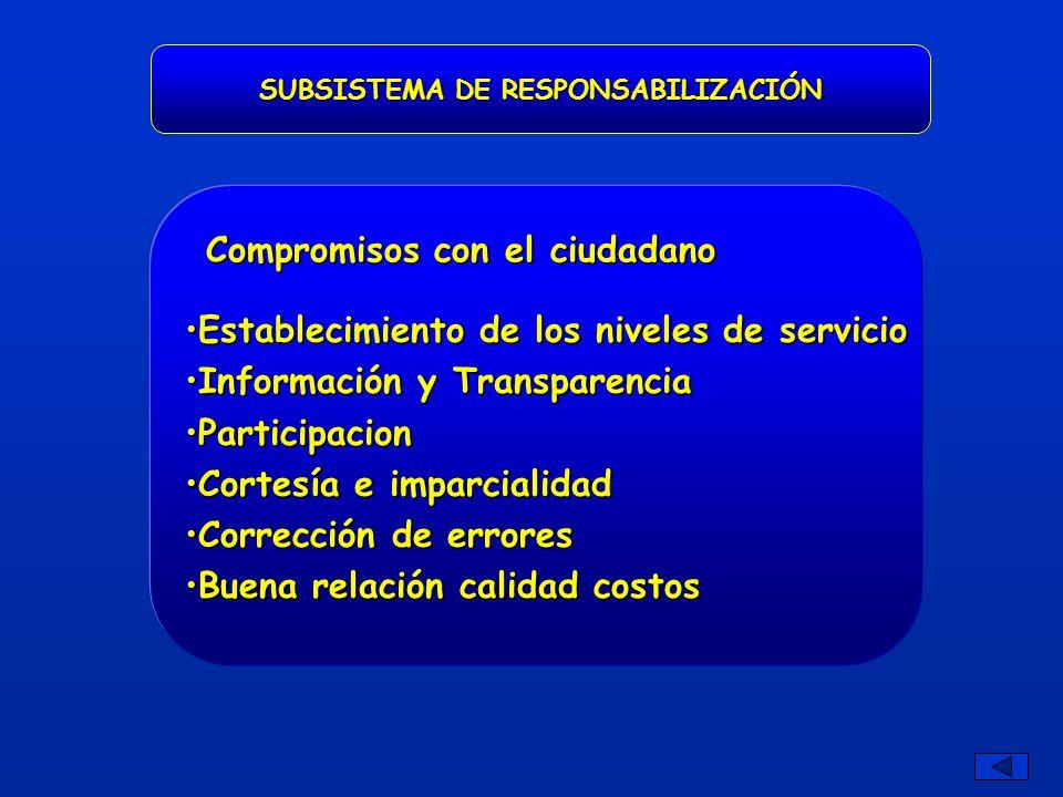 SUBSISTEMA DE RESPONSABILIZACIÓN